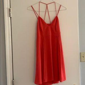 Express Keyhole Back Strappy Dress